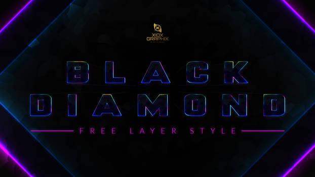 Black Diamond Layer Style -FREE-