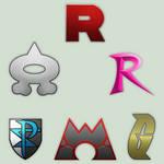 Pokemon Bad Teams Logos