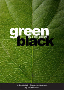 green is the new black essay The rbc ® black history month student essay competition we're proud that black history month has become an important time to recognize the contributions black.