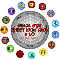 Ninja Stat Icon Pack v1 by TwinEnigma
