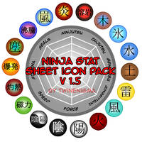 Ninja Stat Icon Pack v1.5 by TwinEnigma