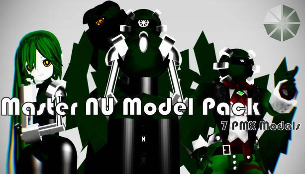 MMD 77 Watchers Gift: Master NU Pack [DL]