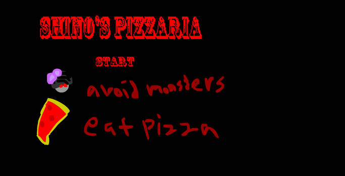 Shino's Pizzaria (FULL GAME) by potatopancake