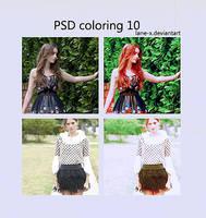 PSD coloring 10 by Lane-X