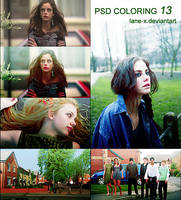 PSD coloring 13 by Lane-X