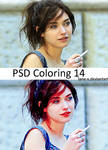 PSD coloring 14