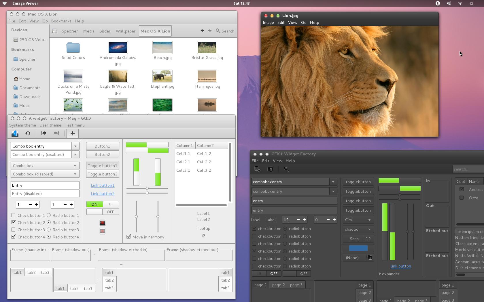 Maq - Mac OS X Lion Theme - GTK3 by batil on DeviantArt
