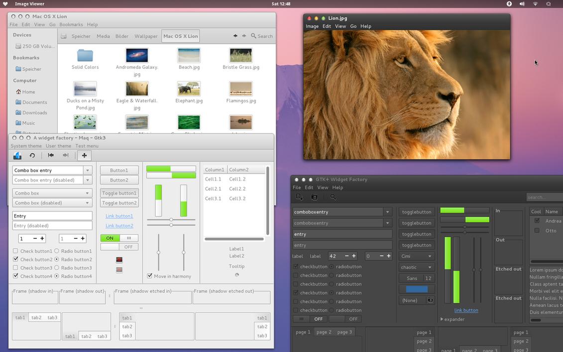 Maq - Mac OS X Lion Theme - GTK3 by batil