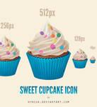 Sweet Cupcake Icon