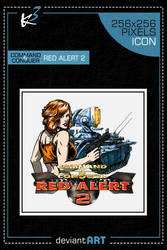 Red Alert 2 - Tanya Icon