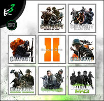 The Call of Duty Series Icon-Pack (2003-2011)