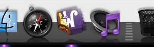 Alu Curved 3D Black Purple
