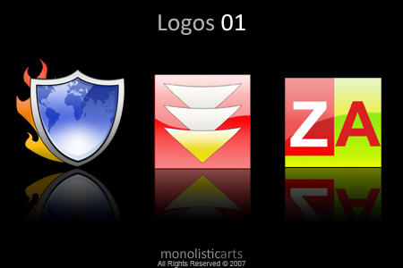 Logos 01 icons and png