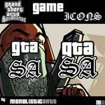 GTA San Andreas Icons