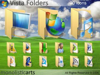 Vista Folders by monolistic