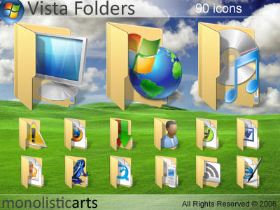 Vista Folders by monolistic