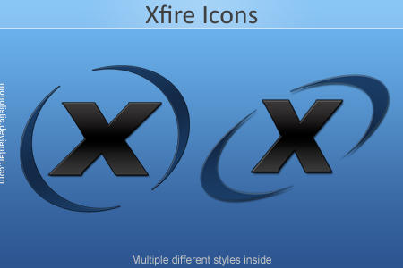Xfire Icons by monolistic
