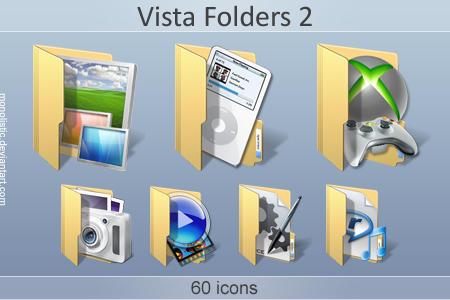 Vista Folders 2 by monolistic