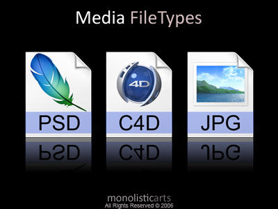 Media FileTypes by monolistic