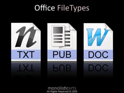 Office FileTypes by monolistic