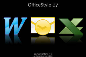 OfficeStyle 07 icons by monolistic