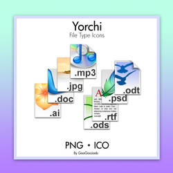 Yorchi File Types