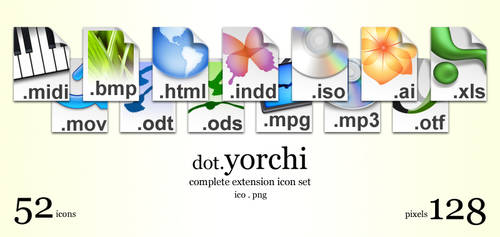 dot.Yorchi Extension Icons