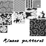 Kimono Pattern Brushes