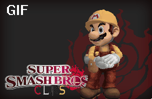 Builder Mario (SSB CLRS) by lasercraft32