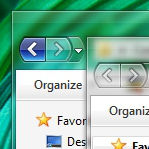 Win7 ClearScreen ExplorerFrame