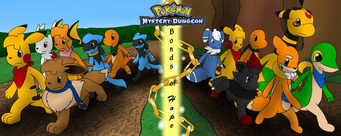 Pokemon Mystery Dungeon Bonds of Hope