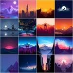 Beautiful Minimalist (2020) Vol-1 Wallpaper HD 4K