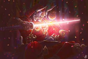 Yoshimitsu Soul Calibur by yesdanel