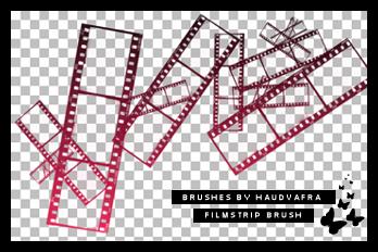 hv filmstrip brush by haudvafra