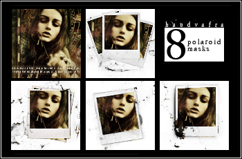 8 Small Polaroid Masks by haudvafra