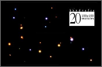 20 Star Light Textures by haudvafra