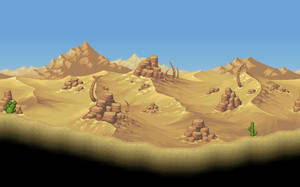Animation - A normal day in the desert by PlanetCentauri