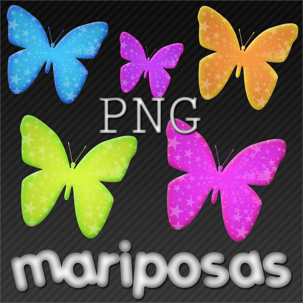 PNG mariposas by jessy-izan