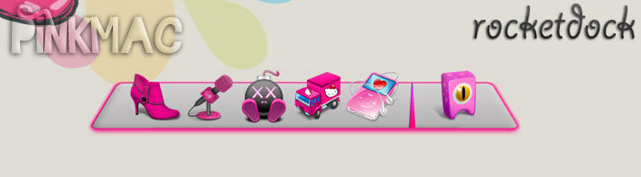 skin rocketdock pinkmac by jessy-izan