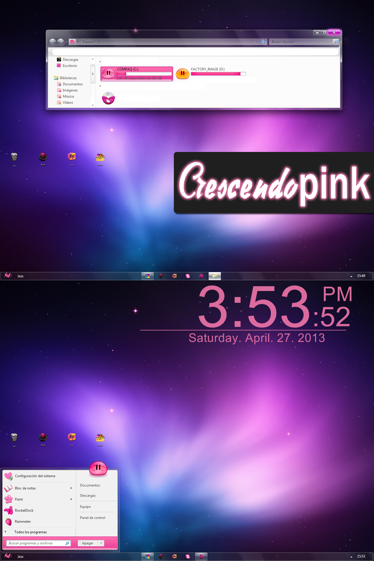 [����] Crescendo PINK [ Windows 7 / 2013 ]