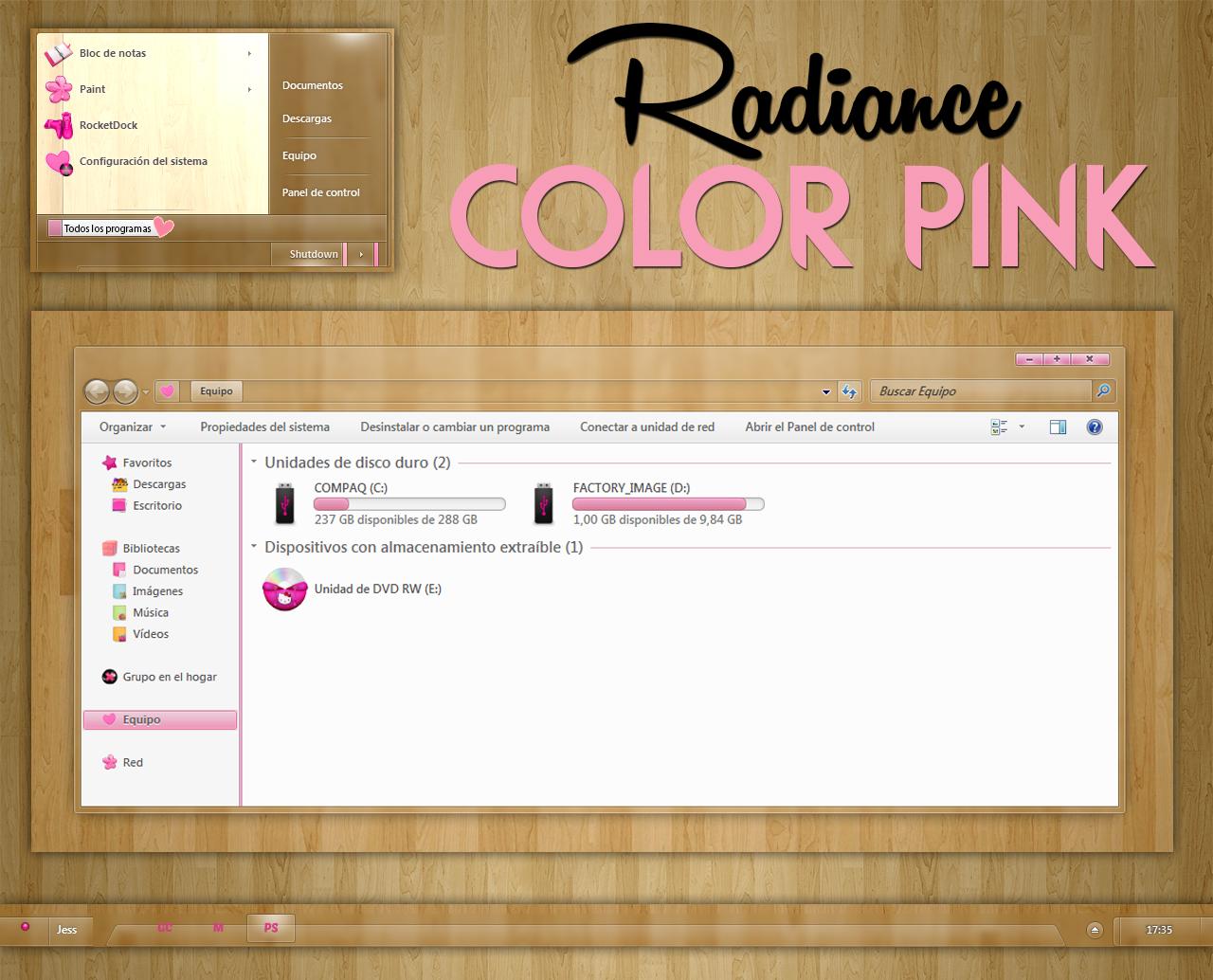 Radiance Color Pink