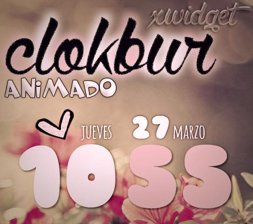 ClockBur for XWIDGET by jessy-izan