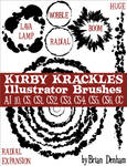 Kirby Krackles Illustrator Brushes