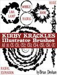 Kirby Krackles Illustrator Brushes