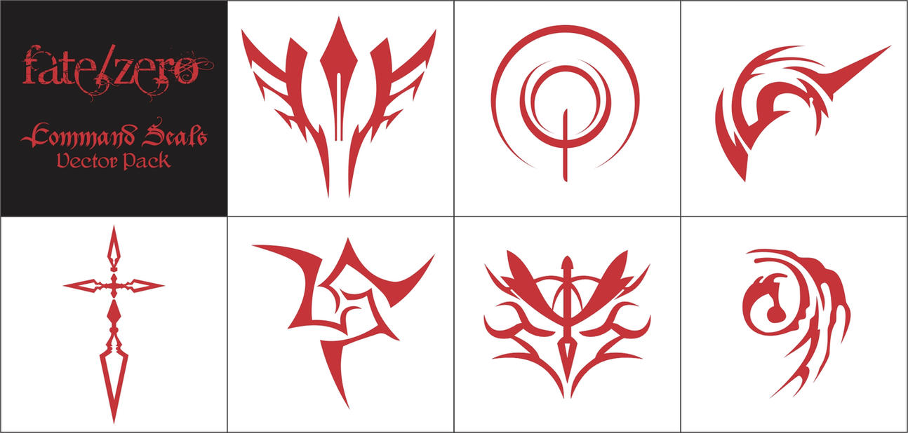 Fatezero command seals vector pack by tseon on deviantart fatezero command seals vector pack by tseon biocorpaavc