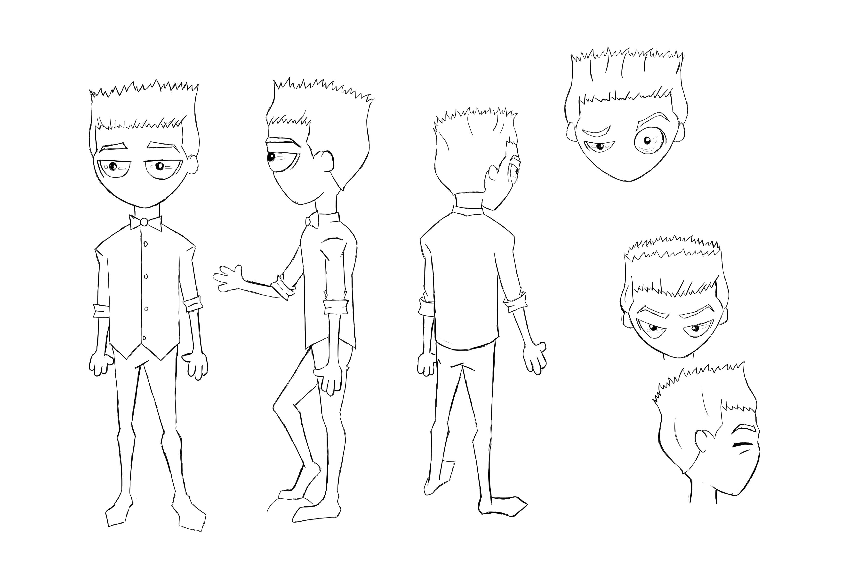 Character Design #1 (Dong_Jeffrey) by jdremix