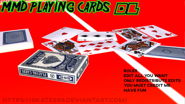 Mmd Playing Cards dl