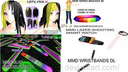 Mmd Random Acc Pack Dl by skates99