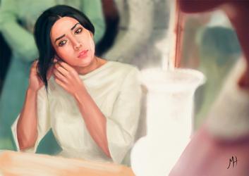 The bride by atramh