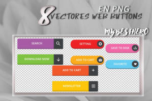 +Vectores Web Buttons [FREE] by SadFeminazi